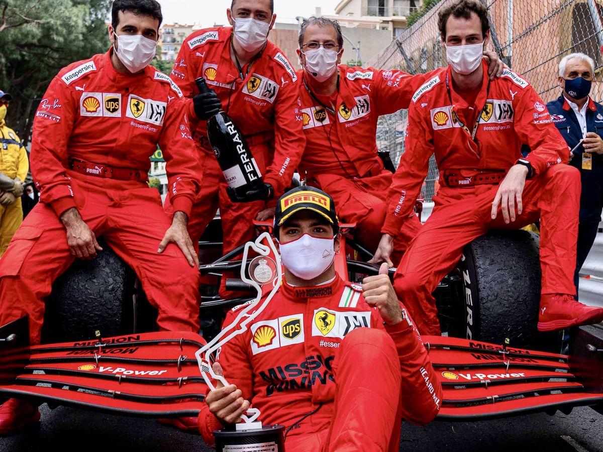 Foto: El resultado del GP de Mónaco ha transformado la percepción de Carlos Sainz en su primera etapa con Ferrari