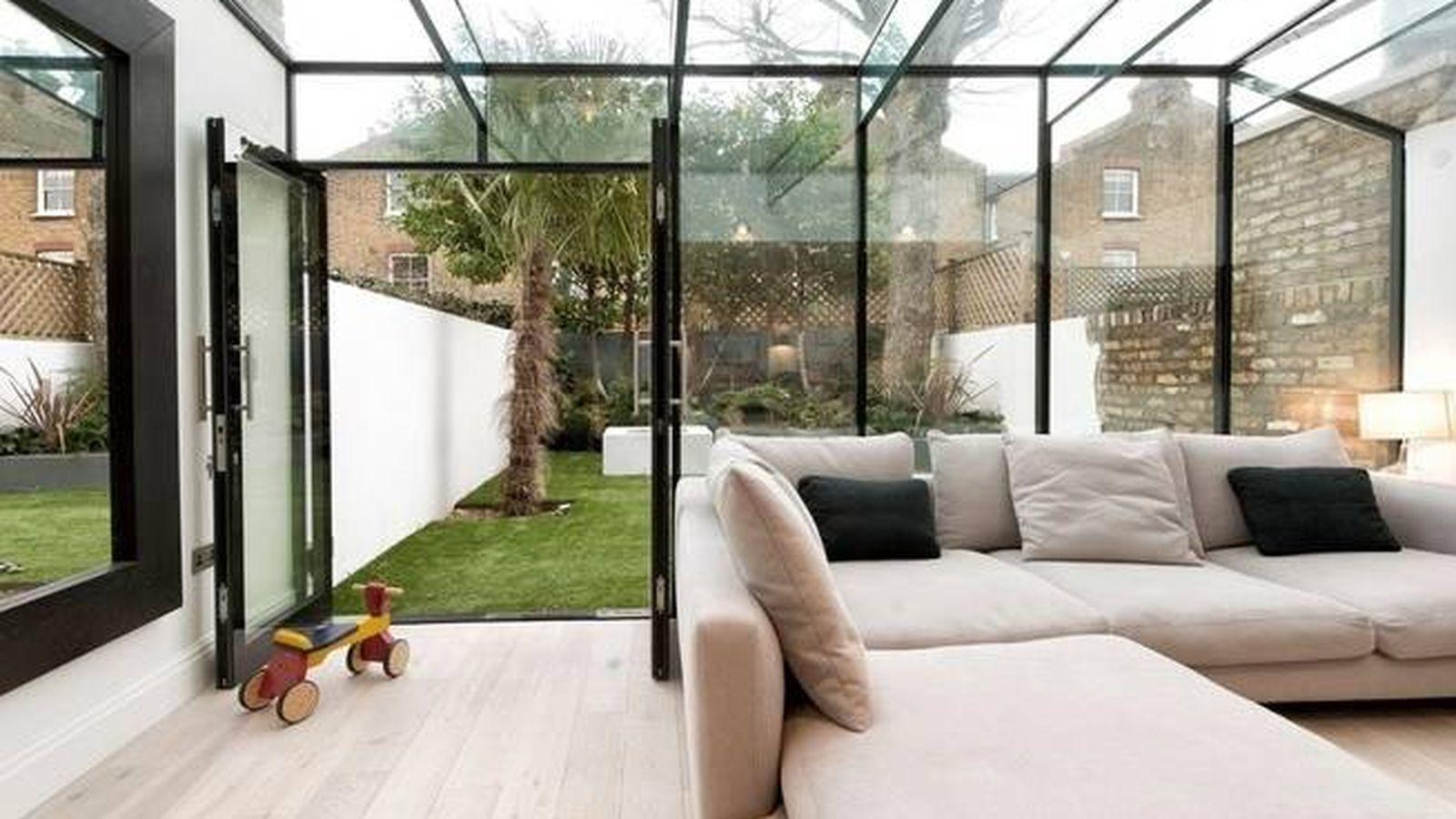 Decoraci n cerramiento de terraza o un patio exterior - Terrazas interiores decoracion ...