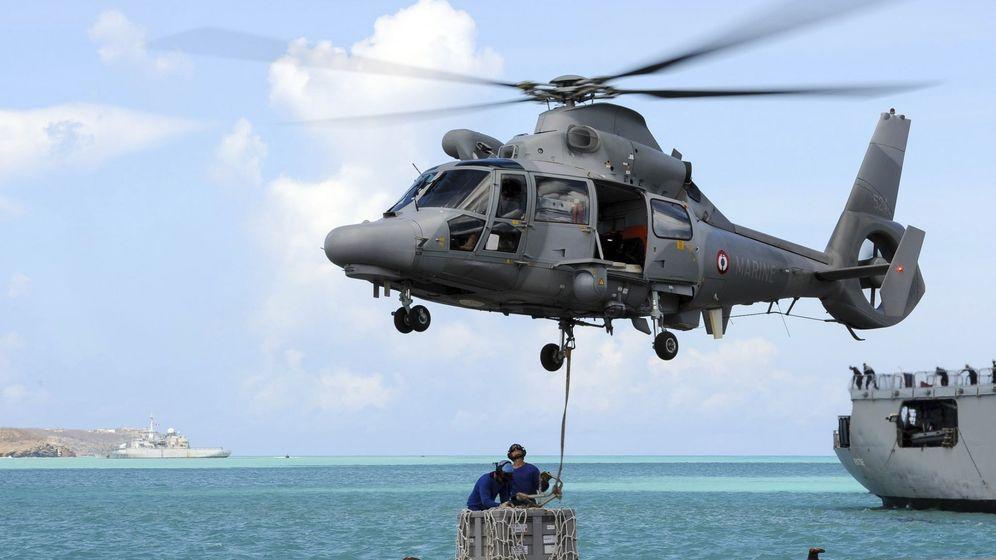Foto: Imagen de archivo de un helicópeto militar francés. (EFE)