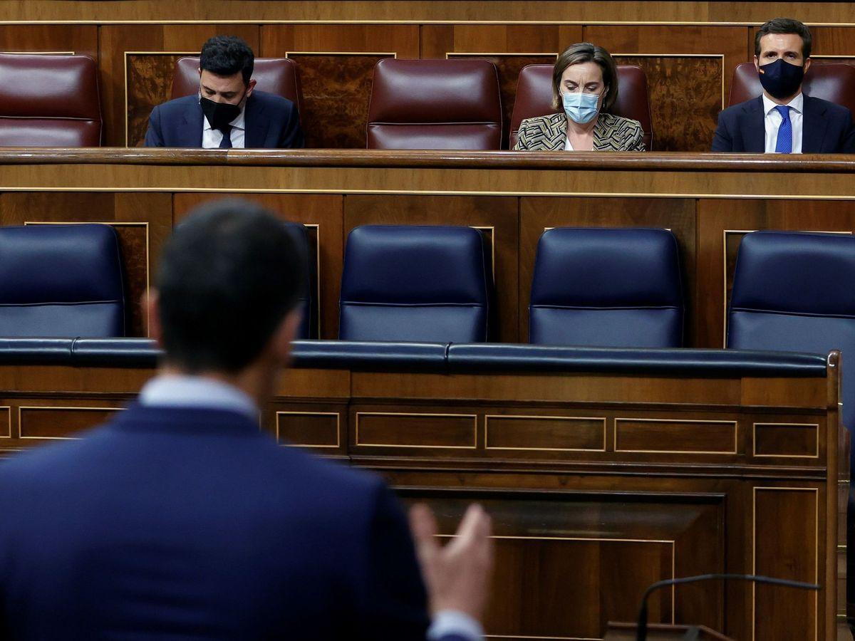 Foto: Sesión de control al Gobierno en el Congreso. (EFE)