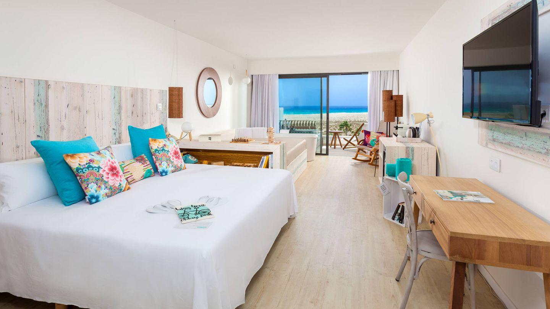 Una suite del Sol Beach House at Meliá, en Fuerteventura. (Foto: Cortesía)