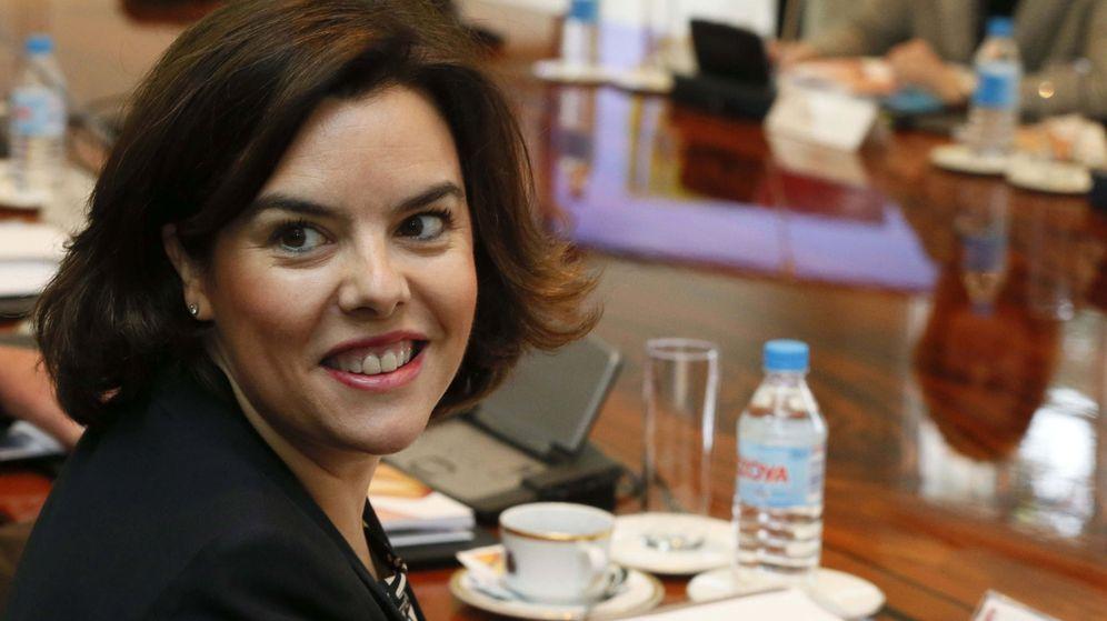 Foto: Soraya Sáenz de Santamaría, vicepresidenta del Gobierno en funciones  y titular del Ministerio de Presidencia, del que depende el BOE. (EFE)