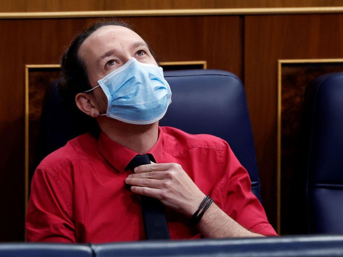 Foto: El todavía vicepresidente segundo del Gobierno, Pablo Iglesias. (EFE)