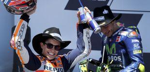 Post de Márquez para el golpe de Viñales, pero ahora aparece Rossi