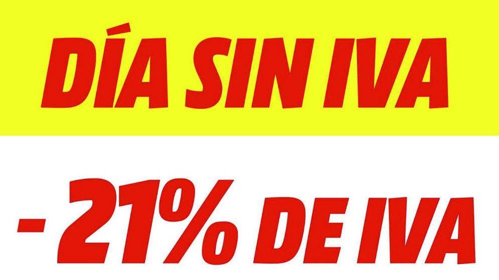 Foto: Día sin IVA de MediaMarkt