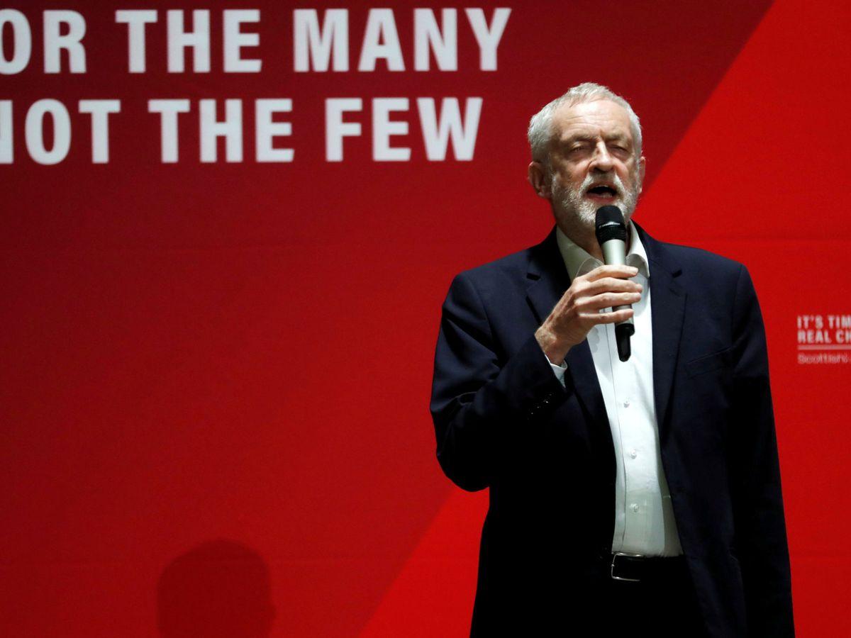 Foto: El lider de los laboristas, Jeremy Corbyn