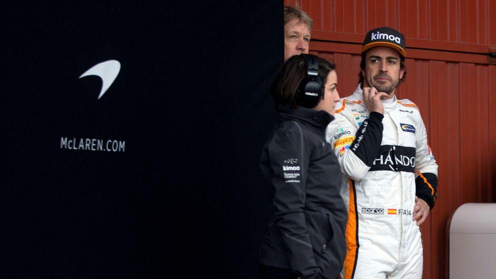 Alonso arranca en 2018: Tengo una sensación diferente a la de otros años
