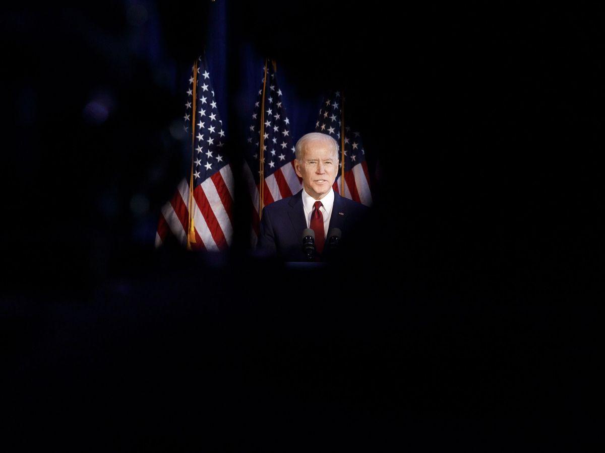 Foto: El candidato presidencial Joe Biden (EFE)