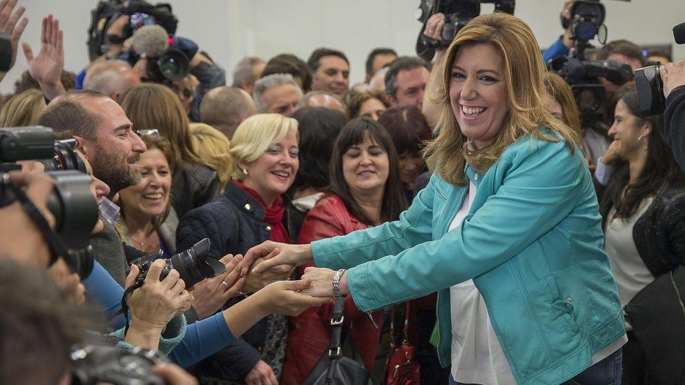 Díaz resiste el embate de Podemos pero necesita a Ciudadanos; el PP se hunde