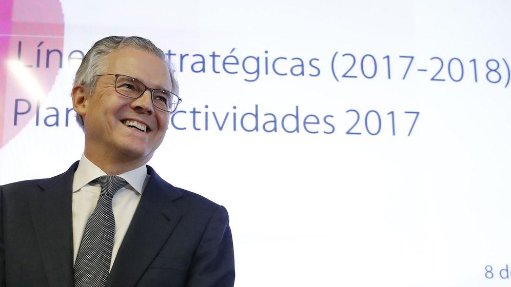 Foto: El presidente de la Comisión Nacional del Mercado de Valores (CNMV), Sebastián Albella. (EFE)