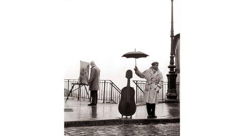 Elegantes bajo la lluvia
