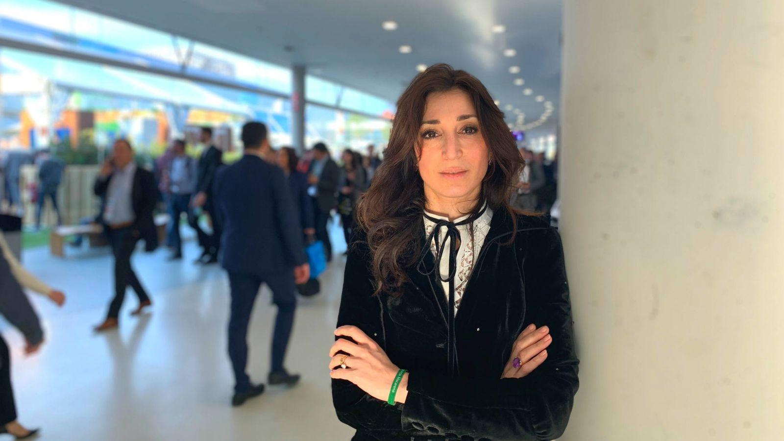 Foto: Heba Bevan, fundadora de la 'startup' UtterBerry y asesora del Gobierno británico. (M. Á. M.)