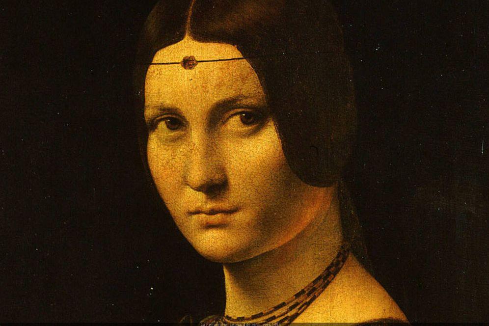 Foto: Exposición sobre Leonardo Da Vinci en el Museo del Louvre de París