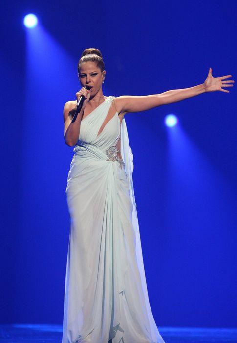 Foto: Pastora Soler en Eurovisión 2012 (EFE)