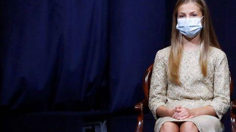 Leonor brilla (literalmente) con su look de lentejuelas en los Premios Princesa de Asturias