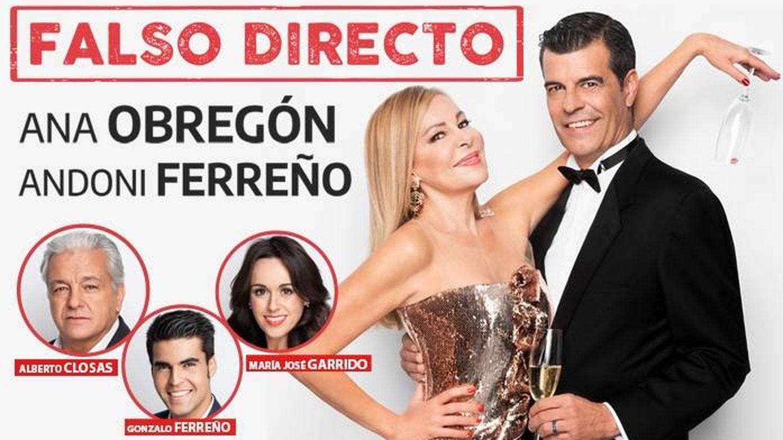 Cartel promocional de la función que se iba a estrenar en agosto en el teatro Amaya de Madrid.