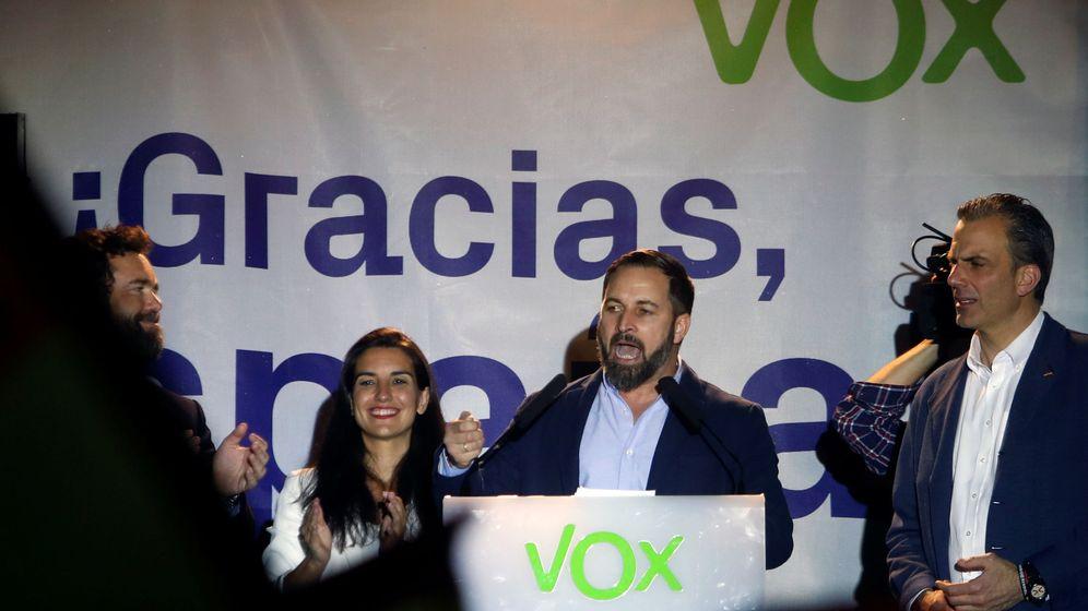 Foto: Santiago Abascal, líder de Vox. (Reuters)