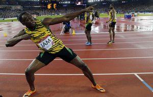 Bolt no defrauda y se adjudica el oro en el 4x100 de la Commonwealth