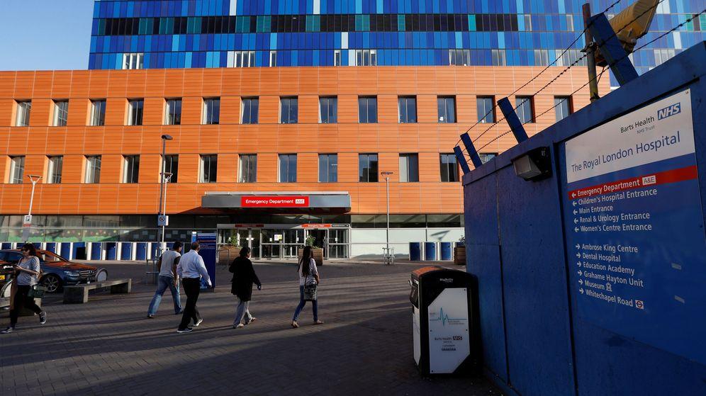 Foto: Royal London Hospital de Londres. (Reuters)