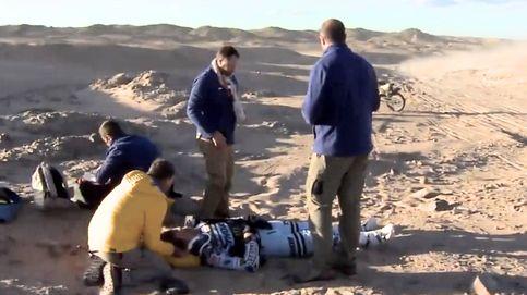 La brutal caída de Van Beveren en el Dakar y el paso adelante de Joan Barreda