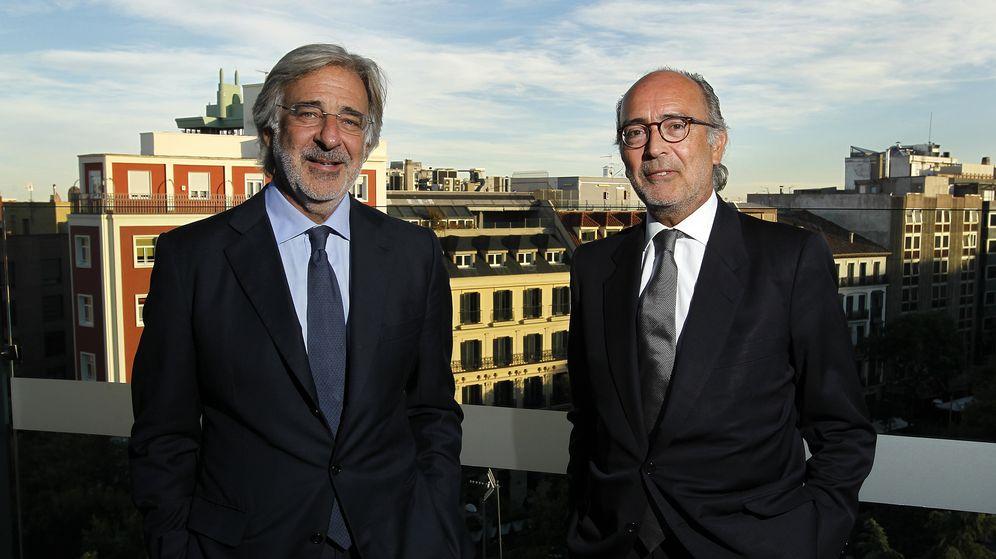 Foto: Emilio Cuatrecasas y Rafael Fontana. (CuatrecasasGP)