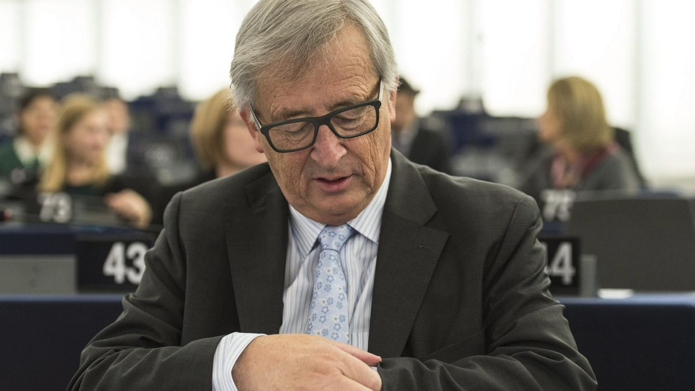 Foto: Para Juncker es hora de poner fin a la opacidad fiscal, según ha dicho ante los ministros de Economía de la UE (EFE)