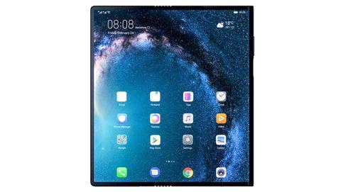Huawei Mate X: increíblemente fino