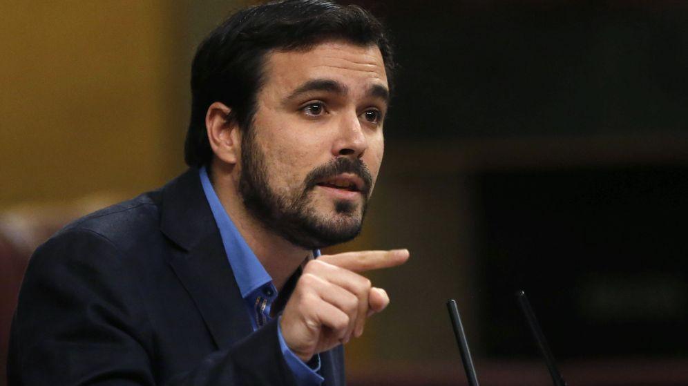 Foto: El portavoz de Izquierda Unida en el Congreso, Alberto Garzón. (Efe)