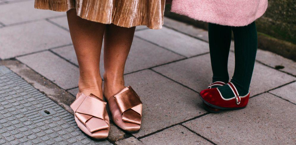 Foto: Zapatos estilosos a ras del suelo. (Imaxtree)