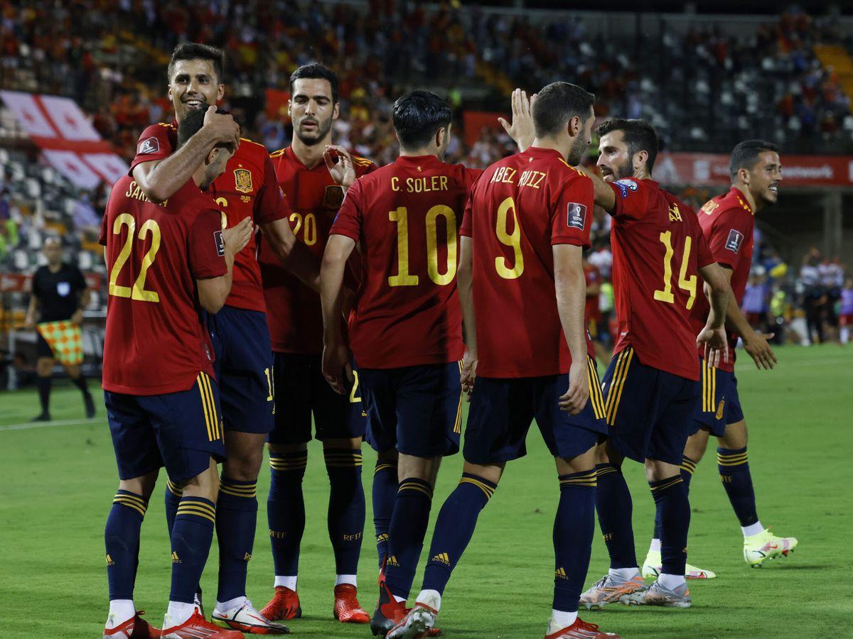 Foto: La selección suma tres puntos y se coloca primera de grupo a la espera de que Suecia juegue sus dos partidos. (Reuters)
