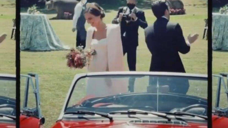 Detalle del ramo de la novia. (@luciapombo)