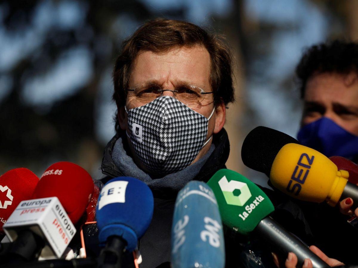 Foto: El alcalde de Madrid, José Luis-Martínez Almeida. (EFE)