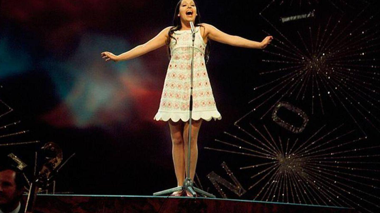 Massiel, en Eurovisión 1968. (RTVE)