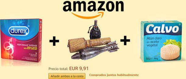 Foto: Bombas caseras, condones o atún en aceite. (Fotomontaje: El Confidencial)