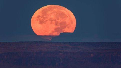 Así es la Superluna vista de cerca