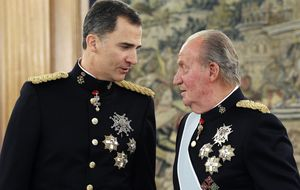 Juan Carlos a Felipe sobre Cristina: Déjamelo a mí que soy su padre