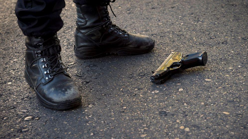 Foto: Tres sicarios acusados de matar por error a un hombre en el barrio de Usera (Efe)