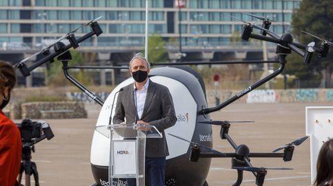 Zaragoza inicia un proyecto pionero para que los drones lleven paquetería