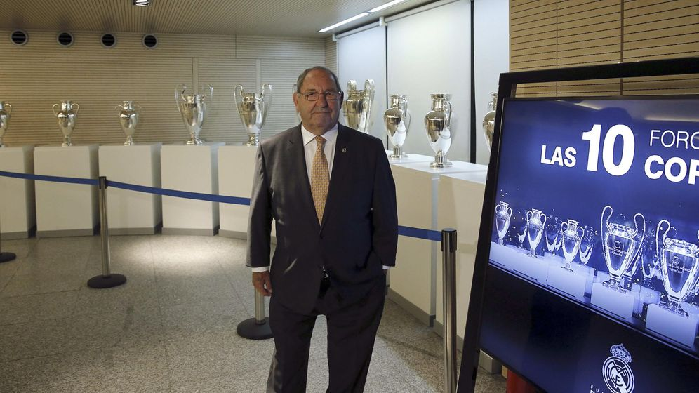 Foto: Gento es el jugador con más Copas de Europa (EFE).