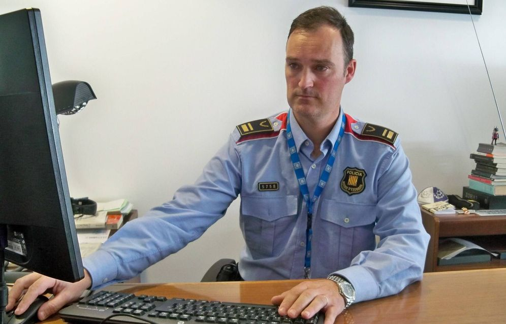 Foto: El comisario Eduard Sallent. (Europa Press)