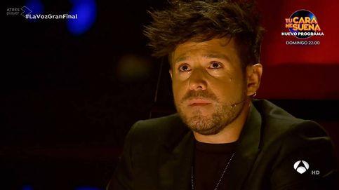 Se me ha metido una canción en el ojo: Pablo López lo vuelve a hacer y llora a lágrima viva en la final de 'La Voz'