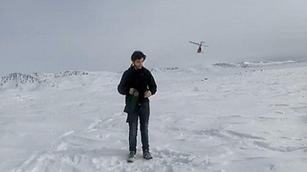 Foto: El actor catalán que sobrevivió en Alaska sin usar tecnología