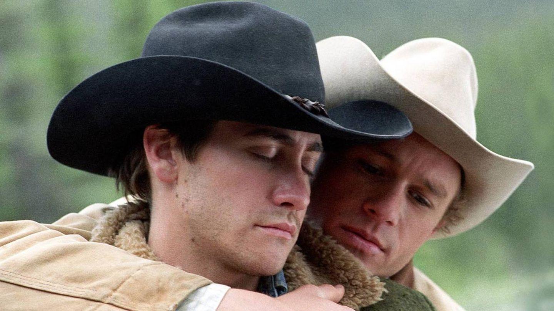 Fotograma de 'Brokeback Mountain', una de las películas pioneras en representar la homosexualidad.