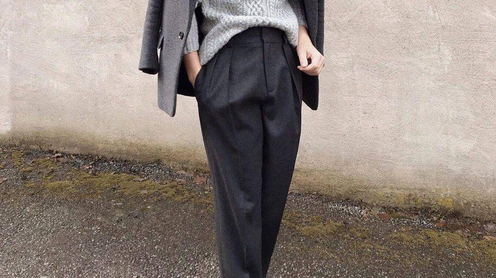 Foto: La influencer sueca nos ha conquistado con su conjunto de grises. (Instagram @frejaura)