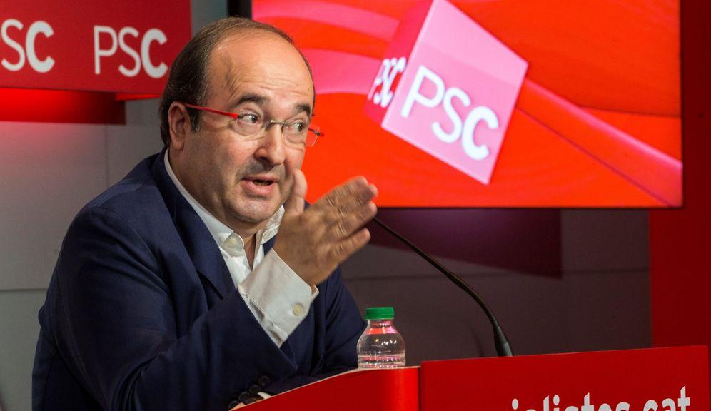 Foto: Miquel Iceta, primer secretario del PSC. (EFE)