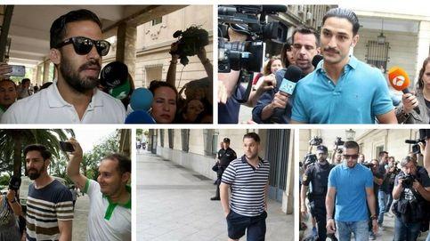 Tres miembros de 'la Manada' serán juzgados desde prisión por el robo de unas gafas