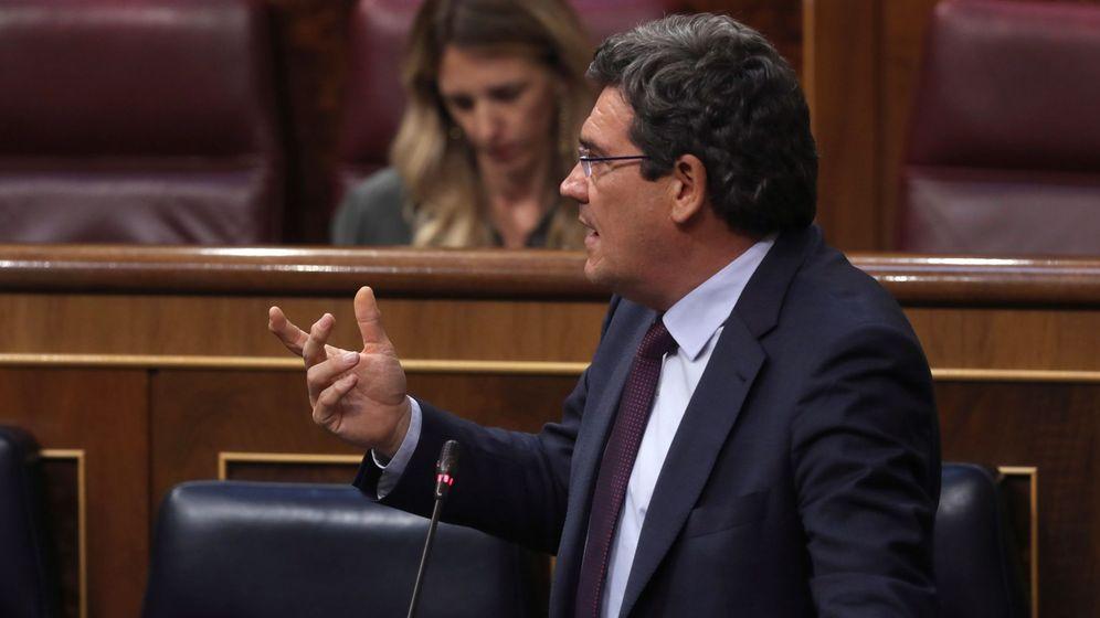 Foto: El ministro de Inclusión y Seguridad Social, José Luis Escrivá (EFE)