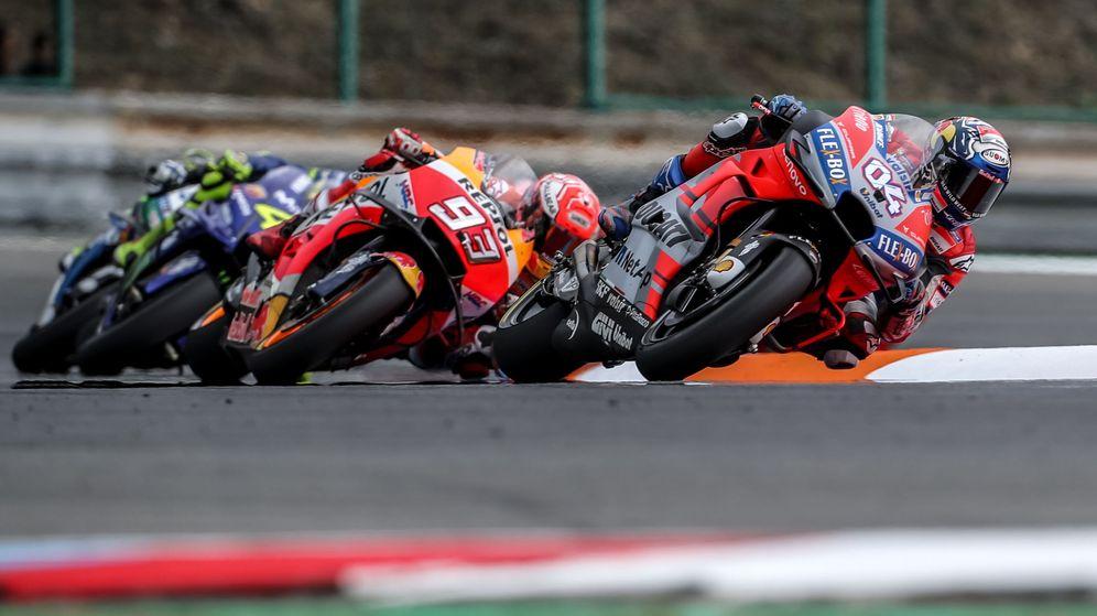 Foto: Gran Premio de la República Checa de Moto GP. (Efe)