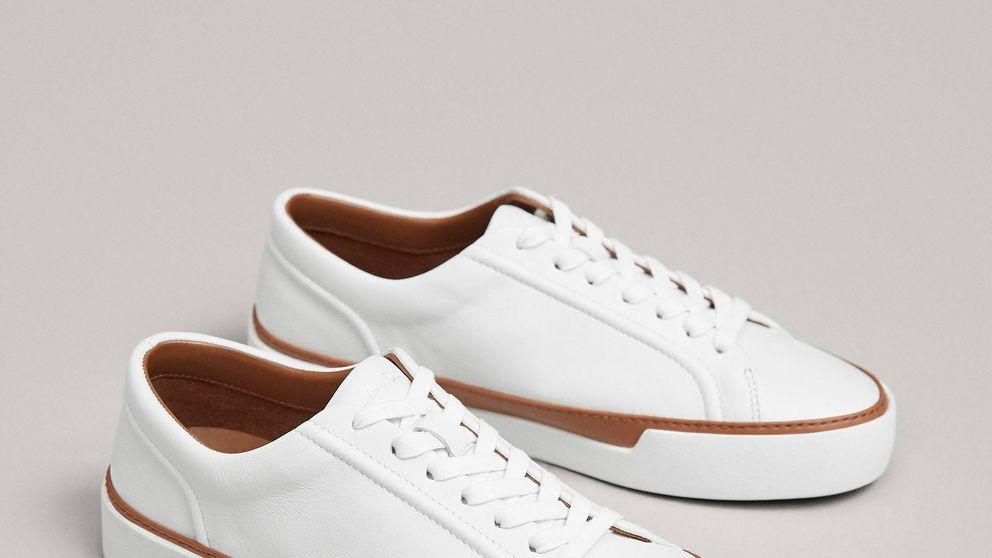 Massimo Dutti rebaja a 35 euros las zapatillas deportivas de piel más ponibles de su colección
