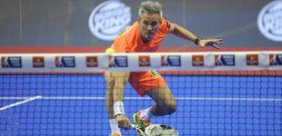 Post de Espectacular punto de Miguel Lamperti en el Santander Open de pádel